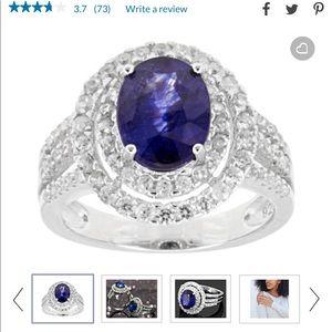 Mahaleo sapphire ring